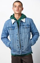 Obey Off The Chain Sherpa Denim Jacket