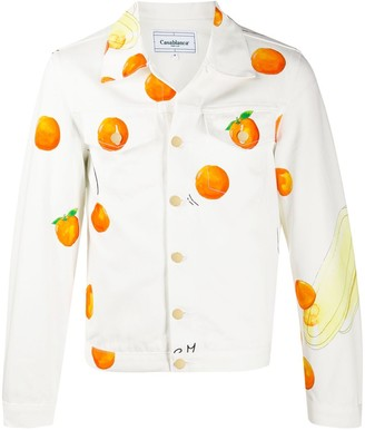 Casablanca Les Orange denim jacket
