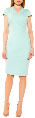 Alexia Admor Kinsley Cap Sleeve Sheath Dress