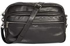 Saint Laurent Men's Leather Messenger Bag