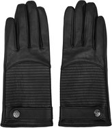 Reiss Freya - Leather Gloves in Black, Womens