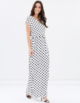 Dorothy Perkins Mono Bar Maxi Dress