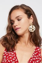 Free People Sundial Cutout Knocker Hoops
