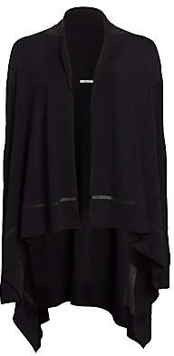 Wolford Women's Mantella Virgin Wool Poncho Cardigan