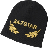 DSQUARED2 24-7 Star Icon Black Wool Beanie