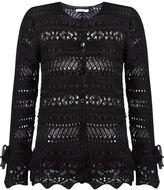 Cecilia Prado open knit tricot coat