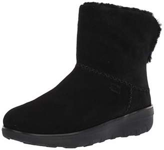 FitFlop Women's Mukluk Shorty III Ankle Boots, Black (All Black 090), 40 EU