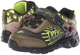 Favorite Characters Jurassic Worldtm Lighted Athletic JPF307 (Toddler/Little Kid) (Black) Boy's Shoes