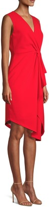 Elie Tahari Adrianne Asymmetrical Sheath Dress