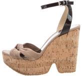 Jimmy Choo Cork Platform Sandals