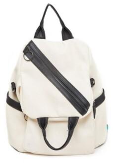 Like Dreams Sideways Zip Hobo Backpack