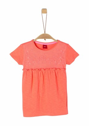 S'Oliver Girls' 403.10.004.12.130.2021783 T-Shirt
