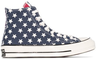 Converse White Chuck 70 Archive Restructured high top sneakers