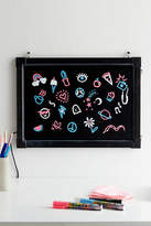 Urban Outfitters LED Color-Changing Message Board