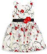 Zoë Ltd Cherry Blossom Dress, Ivory, Size 7-16
