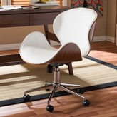 Baxton Studio Bruce Faux Leather Office Chair