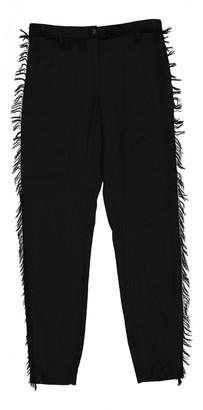 Chanel Black Viscose Trousers