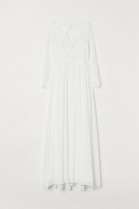 H&M Lace Wedding Dress - White