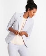 Brooks Brothers Striped Stretch Cotton Seersucker Jacket