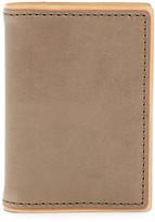 J.fold J-Fold Two-Tone Folding Leather Card Case