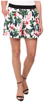 Vince Camuto Jungle Lily Pull-On Shorts
