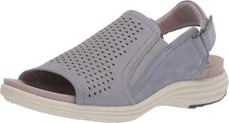 Aravon Beaumont Peep Sling Wedge Sandal