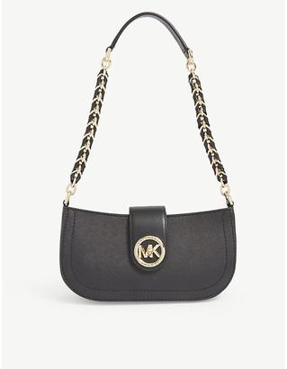 MICHAEL Michael Kors Carmen leather shoulder bag