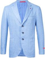 Isaia classic blazer - men - Silk/Linen/Flax/Wool - 44