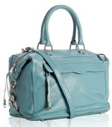 pool leather 'Morning After' bag with strap