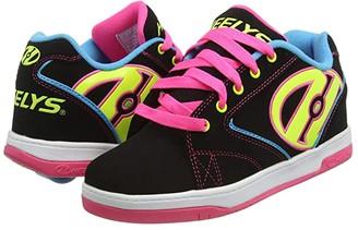 Heelys Propel 2.0 (Little Kid/Big Kid/Adult) (Black/Neon Multi) Girl's Shoes