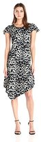 Kensie Women's Animal Ombre Dress