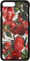 Dolce & Gabbana White Rose iPhone 7 Plus Case