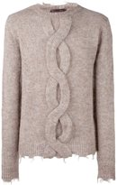 Etro crew neck jumper - men - Polyamide/Mohair/Wool - S