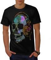 Skull Headphone Music Skull DJ Men XXXL T-shirt   Wellcoda