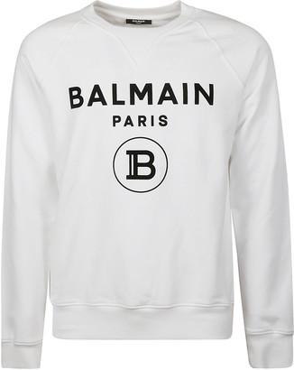Balmain Round B Logo Sweatshirt