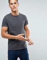 Jack Wills T-Shirt In Classic Regular Fit in Charcoal