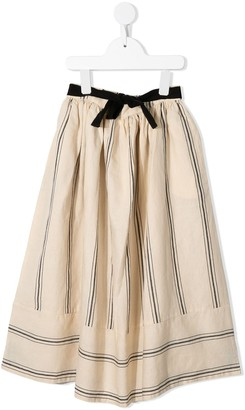 Little Creative Factory Kids Striped Full Skirt