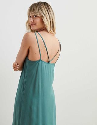 aerie Gauze Midi Slip Dress