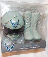 Kurt Adler U.S. Air Force Christmas Ornament Boots & Helmet Kurt S Adler