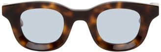 Rhude Tortoiseshell Thierry Lasry Edition Rhodeo Sunglasses