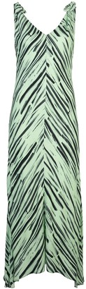 Proenza Schouler White Label Brushstroke Print Dress