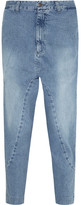 Bassike Super Lo Slung Cropped Boyfriend Jeans - 28