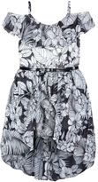 Speechless Girls 7-16 Floral Off Shoulder High-Low Hem Dress