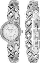 Armitron Women's Quartz Metal and Alloy Dress Watch, Color:-Toned (Model: 75/5412WTSVST)