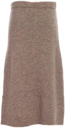 Max Mara Knitted Midi Skirt