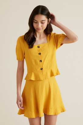 Seed Heritage Linen Rich Top