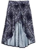 Love, Fire Tie Front Walkthru Skirt (Big Girls)