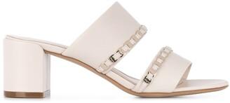 Salvatore Ferragamo Vara 55 braided leather sandal