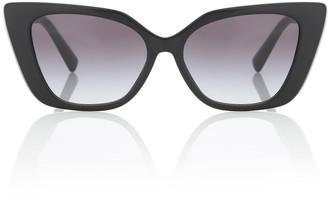Valentino VLOGO acetate cat-eye sunglasses