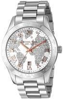 Michael Kors MK5958 Layton Stainless Steel Silver Dial with Diamonds Quartz 43.50mm Women